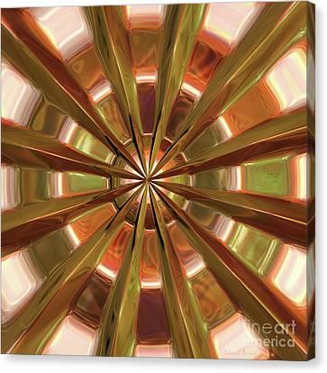 Warped Look Canvas Print by Deborah Benoit