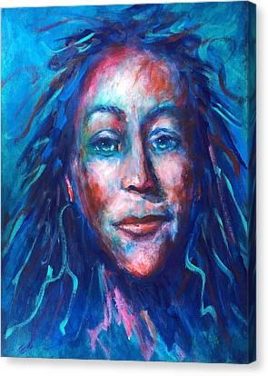 Warrior Goddess Canvas Print by Shannon Grissom