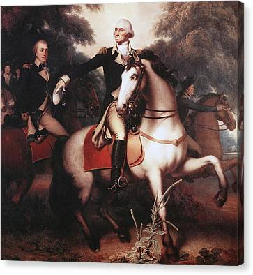 Washington Before Yorktown Canvas Print by Rembrandt Peale
