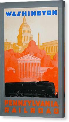 Washington Dc IIi Canvas Print by David Studwell