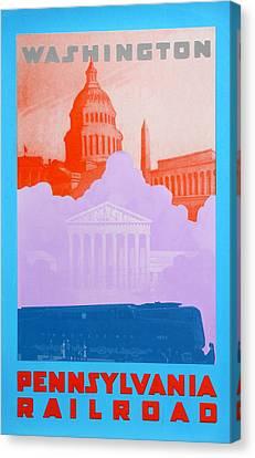 Washington Dc Iv Canvas Print by David Studwell