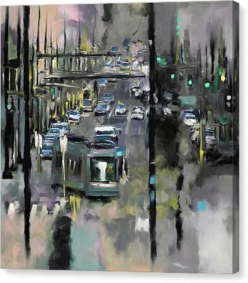Washington I 471 4 Canvas Print by Mawra Tahreem