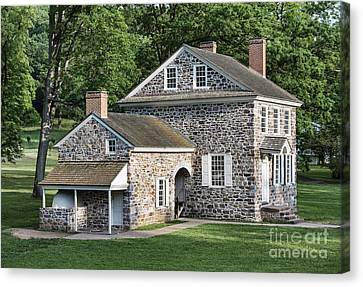 Washington's Headquarters At Valley Forge Canvas Print by John Greim