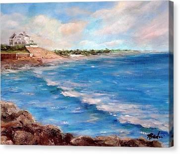 Watch Hill Beach Canvas Print by Anne Barberi