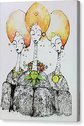 Watchers Canvas Print by Mark M  Mellon