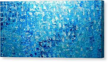Water And Light 2016 Canvas Print by Holly Anderson