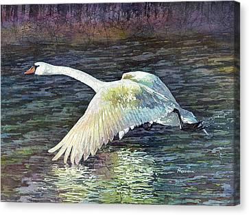 Water Dancer Canvas Print by Hailey E Herrera