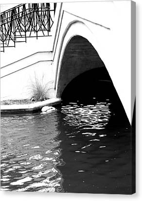 Water Under The Bridge Canvas Print by Dan Sproul
