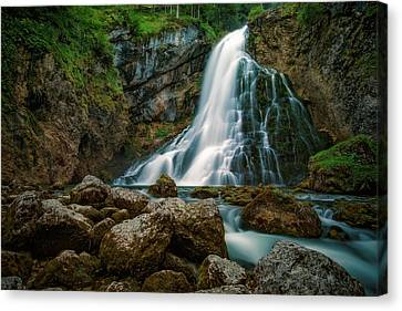 Waterfall Canvas Print by Martin Podt