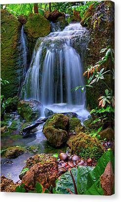 Waterfall Canvas Print by Patti Sullivan Schmidt