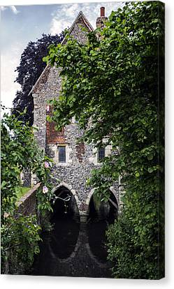 Watermill Canvas Print by Joana Kruse
