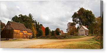 Waters Farm Canvas Print by April Brown
