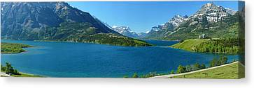 Waterton Gigapan Panorama Canvas Print by Dave Belcher