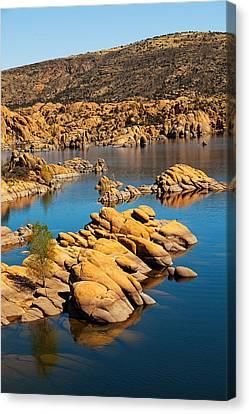 Watson Lake - Prescott Az Usa Canvas Print by Susan Schmitz
