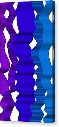 Waves 3 Canvas Print by Alberto RuiZ