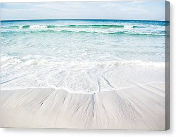 Waves Of Paradise Canvas Print by Shelby  Young