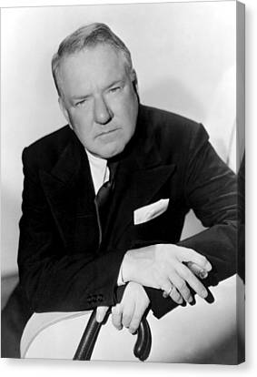 W.c. Fields, Paramount Pictures, 1935 Canvas Print by Everett