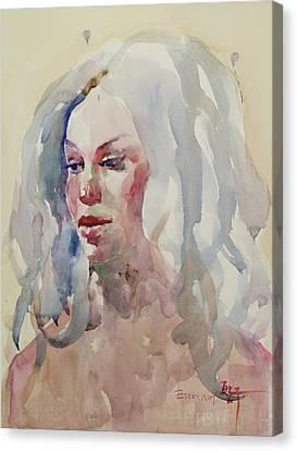 Wc Portrait 1617 Canvas Print by Becky Kim