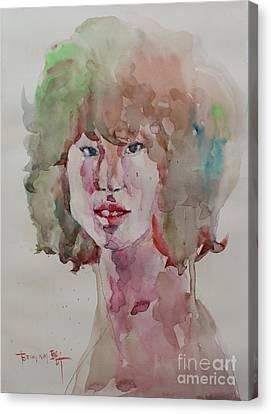 Self Portrait 1623 Canvas Print by Becky Kim