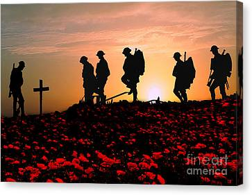 We Will Remember Them Canvas Print by Stephen Smith