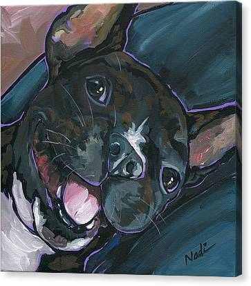 Webster Canvas Print by Nadi Spencer