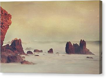 Weep Not For The Memories Canvas Print by Laurie Search