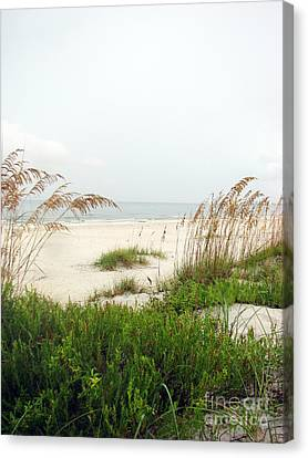 Welcome  Canvas Print by Amanda Barcon