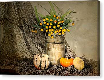 Welcome Autumn Canvas Print by Diana Angstadt
