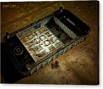 Welcome To Your Prison - Da Canvas Print by Leonardo Digenio
