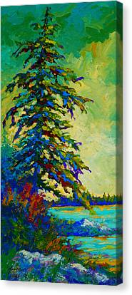 West Coast Sentinel Canvas Print by Marion Rose