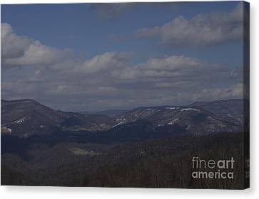 West Virginia Waiting Canvas Print by Randy Bodkins