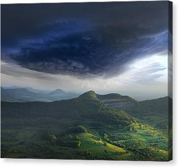 Westalb Canvas Print by Franz Schumacher