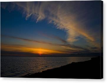 Westcoast Sunset Canvas Print by Naman Imagery