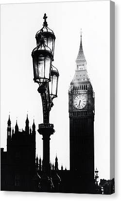 Westminster - London Canvas Print by Joana Kruse