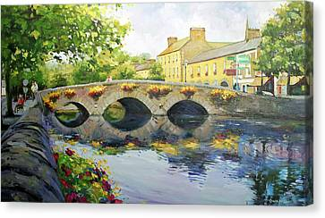 Westport Bridge County Mayo Canvas Print by Conor McGuire