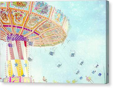 What A Ride Canvas Print by Amy Tyler