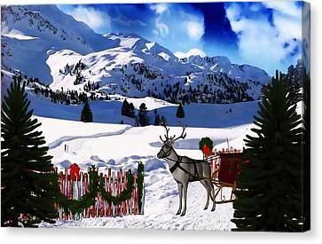 What A Wonderful Time Canvas Print by Gabriella Weninger - David