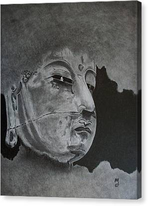 What Is Your Original Face Canvas Print by Nick Young