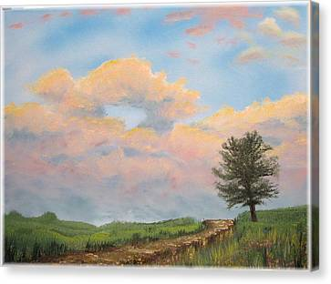 What The Tree Gets To See Canvas Print by Kenneth McGarity