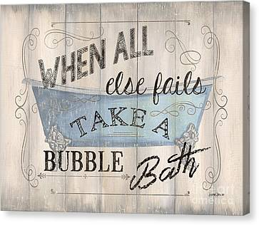 When All Else Fails Canvas Print by Debbie DeWitt