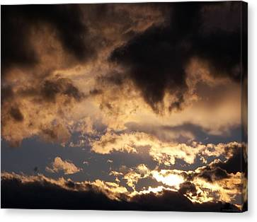 When Heaven Speaks Canvas Print by Glenn McCarthy Art and Photography