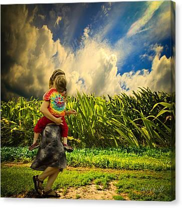 When The Sun Comes After Rain Canvas Print by Bob Orsillo
