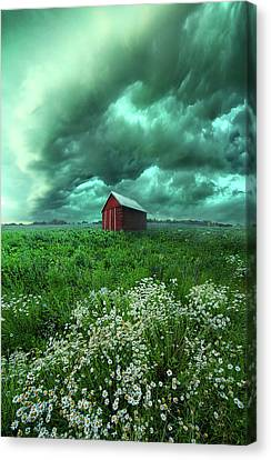 When The Thunder Rolls Canvas Print by Phil Koch