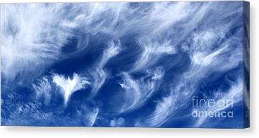 Where Angels Fly Canvas Print by Krissy Katsimbras