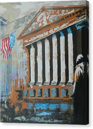 Where Money Is Made Canvas Print by John Henne