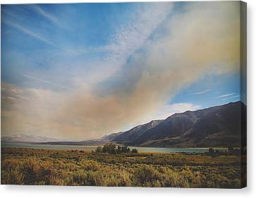 Where There's Smoke Canvas Print by Laurie Search