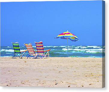 Where We Want To Be Canvas Print by Betsy C Knapp