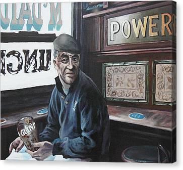 Where's My Pint Canvas Print by Michael Geoghegan