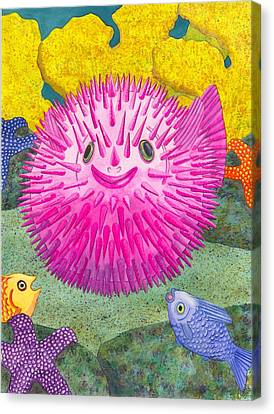 Where's Pinkfish Canvas Print by Catherine G McElroy