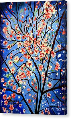 Whimsical Canvas Print by Elizabeth Robinette Tyndall